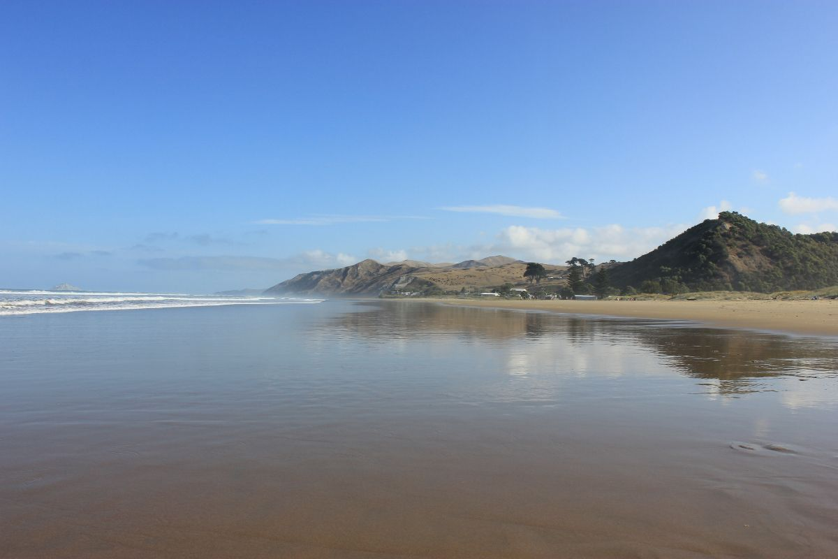 Ocean Beach, 30 minutes drive from Parkside Lodge